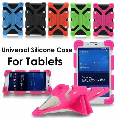 """Universal 10"""" - 10.1"""" inch Tablet Adjustable Kid Shock Proof Silicone Case Cover"""