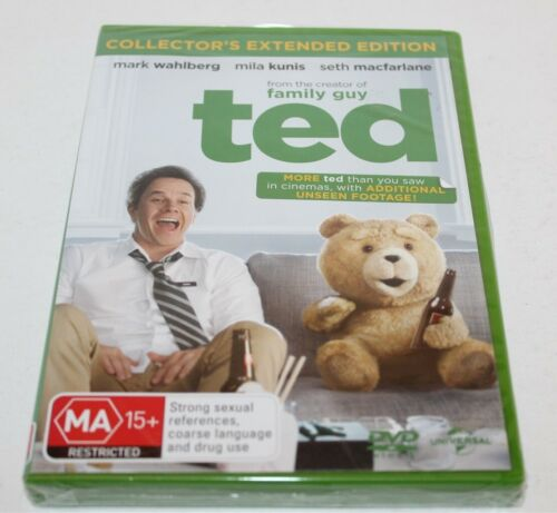 Ted DVD Collector's Extended Edition Brand New & Sealed