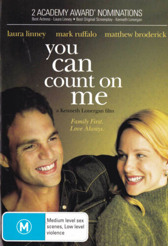 YOU CAN COUNT ON ME Laura Linney / Mark Ruffalo DVD R4 - PAL    SirH70