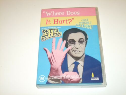 Where Does It Hurt? - DVD **Free Postage** (Peter Sellers)