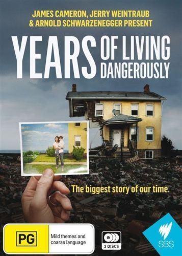 Years Of Living Dangerously (DVD, 2015, 3-Disc Set)--free postage