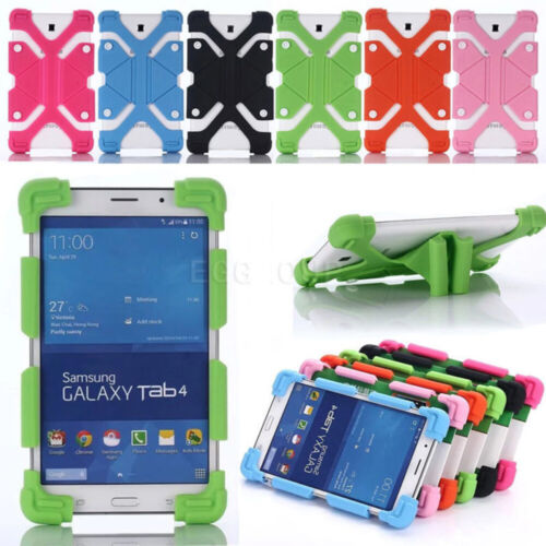 AU For 7 ~ 8 inch Android Tablets Universal Kids Shockproof Silicone Case Cover