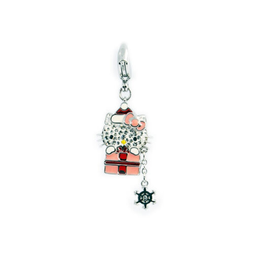 swarovski hello kitty originali ciondolo charm gatto regalo di natale original