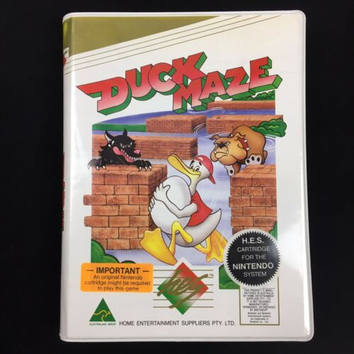 H.E.S. presents DUCK MAZE (Nintendo NES PAL - HES) With Dongle