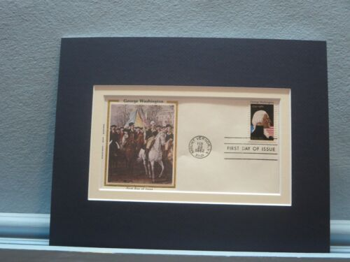American Revolution - George Washington & 250th Anniversary First day Cover  Reenactment & Reproductions - 156378