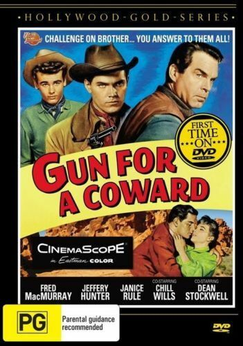 GUN FOR A COWARD (1957 MOVIE - DVD SEALED + FREE POST)