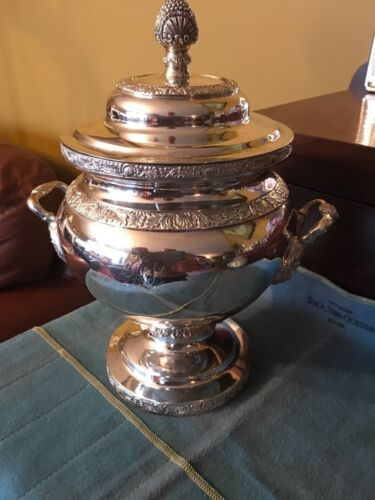 1835 John H Connor J.H.C Early New York Coin silver covered sugar bowl