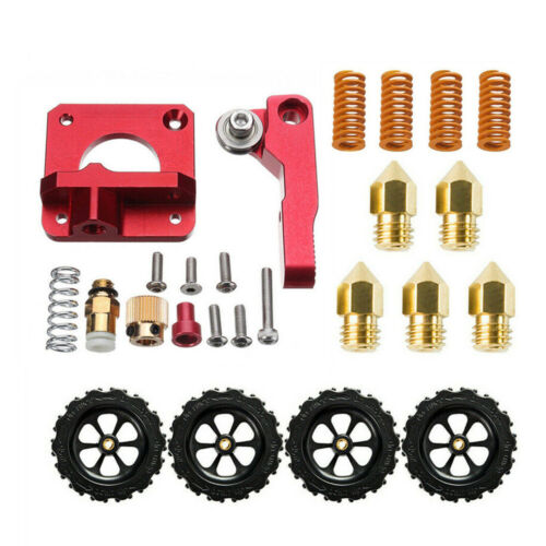 Extruder Upgrade Kit+4X Leveling Groove+5X 0.4mm Nozzles For Creality Ender 5/3