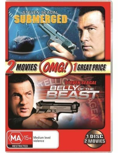 Steve Seagal - Submerged / Belly Of The Beast DVD R4