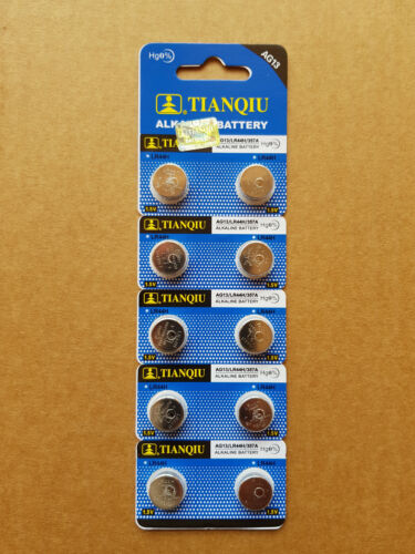 10x AG13/LR44/357A EXP 2023 1.5v Alkaline Batteries post from MELB