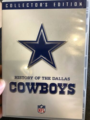 History Of The Dallas Cowboys region 1 DVD (2 discs) NFL / US American Football