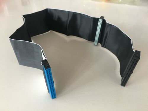 IDE PATA 80 wire 40pin 45cm Hard Drive DVD Ribbon Cable x 1 only