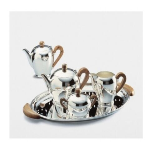 Alessi Bombe Silver Tea And Coffee Set. Never Used. In Packaging. RRP $7639.00