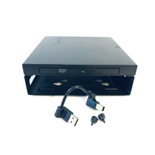 Lenovo M93P/M83 Tiny External USB Optical DVDRW Drive 04X2176 With VESA Bracket