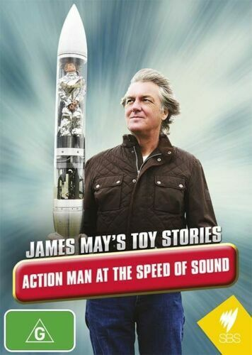 James May's Toy Stories - Action Man At The Speed Of Sound (DVD) NEW/SEALED