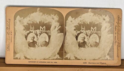 Stereoview 1439 Harrison and Morton c1888 Littleton View Co