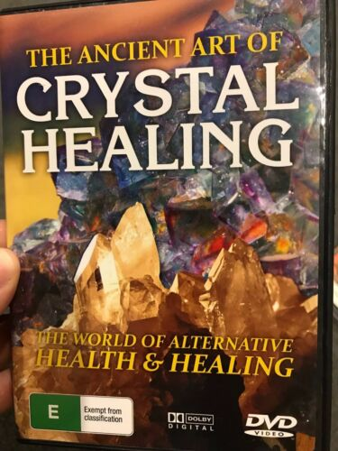 The Ancient Art Of Crystal Healing region 4 DVD (documentary)