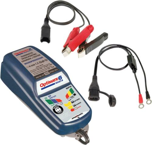 Tecmate Optimate 6 Desulfating Battery Charger Tester Maintainer TM-188