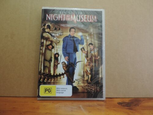 Night At The Museum dvd region 4 brand new and sealed