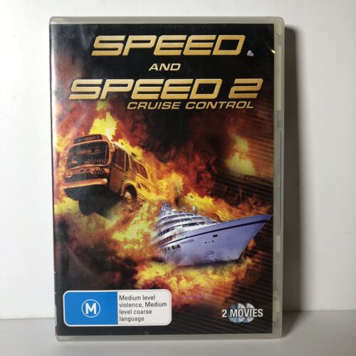 Speed Special Edition 2-Disc DVD & Speed 2 Cruise Control R4
