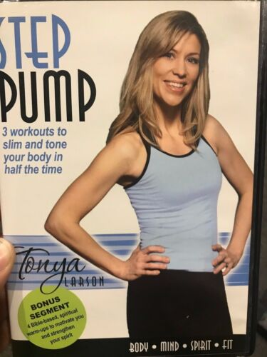 Step Pump With Tonya Larson region 1 DVD (exercise / fitness / workout)