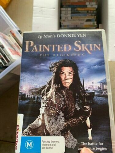 Painted Skin: The beginning rare oop dvd very good condition  t737
