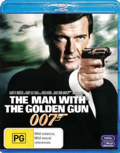 The Man With The Golden Gun (James Bond 2012) Blu-Ray Region B