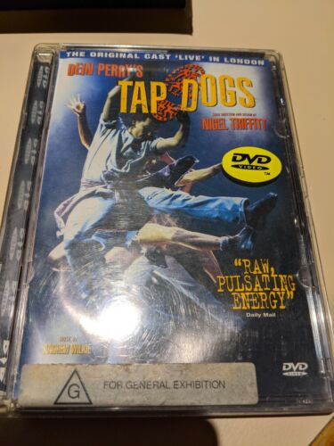 Dein Perry's Tap Dogs-The Original Cast Live in London OOP and rare Dvd zone 4