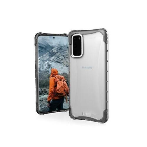 UAG Plyo Case for Samsung GALAXY S20 - Ice Rugged Soft Clear Strong Corner Prote