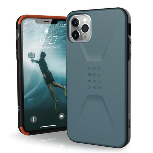 UAG Stealth Case for iPhone 11 Pro Max 6.5 Slate Blue Rugged Hard Back Shell Pro