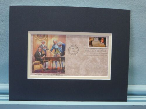 Diplomat - Ben Franklin & the French Alliance & First day Cover of his  stampReenactment & Reproductions - 156378