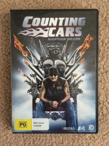 Counting Cars - Shifting Gears (DVD 2-Disc Set) NEW