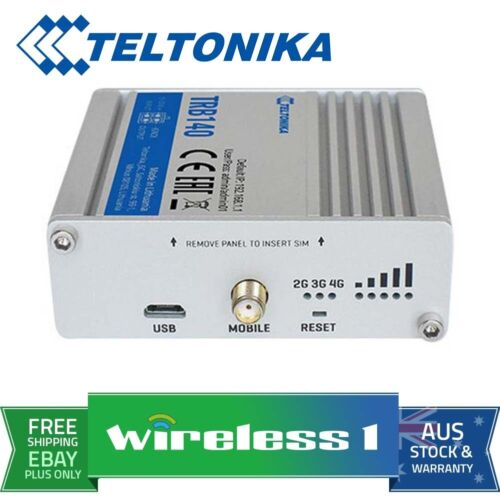 Teltonika TRB140 Linux based LTE Industrial Gateway board with Ethernet interfac