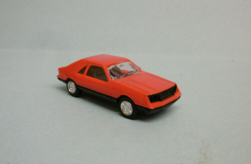 Herpa - VOITURE FORD MUSTANG rouge HO 1/87