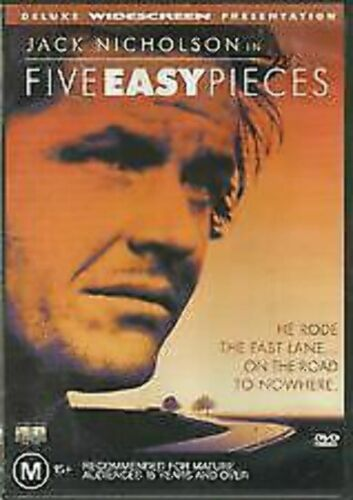Five Easy Pieces DVD very good condition rare oop  t114
