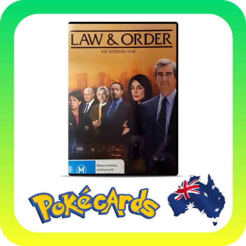 Law And Order : Season 16 (DVD, 2017, 6-Disc Set)