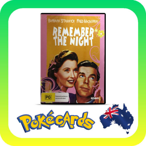 REMEMBER THE NIGHT 1940 DVD NEW & SEALED R4