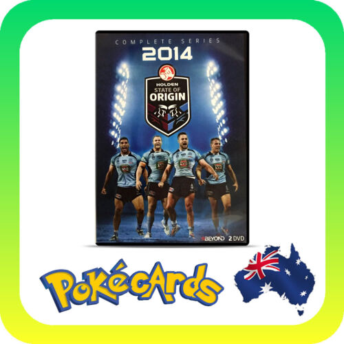 Complete Series 2014 STATE OF ORIGIN - FREE SHIPPING!