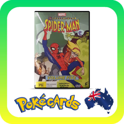 The Spectacular Spiderman : Vol 5 (DVD, 2017)