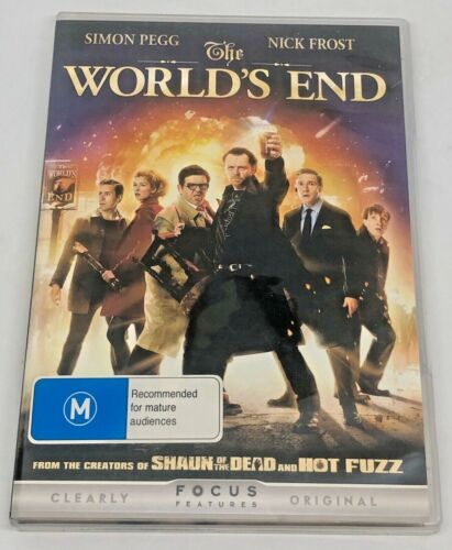 The World's End (DVD, 2013)
