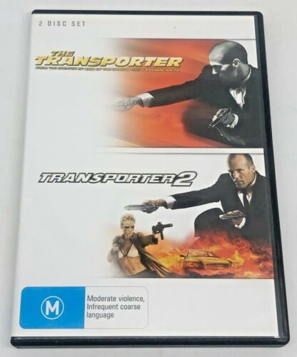 Transporter 1 and 2 (DVD, 2008, 2-Disc Set)