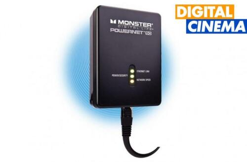 Monster DX PLN 50 Ethernet Over Power-Black