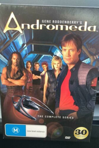 Andromeda: The Complete Series - Gene Roddenberry's - 30-Disc Box Set - DVD
