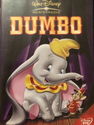 Disney ✨ Dumbo DVD 📀 Very Good Condition Region Two 2 Different Versions German