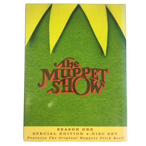 The Muppet Show - Season 1 4 Disc DVD Set 2005 Special Edition Region 1