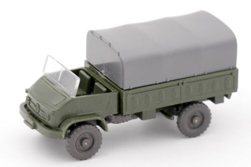 WIKING HO 1/87 CAMION MILITAIRE MERCEDES UNIMOG S