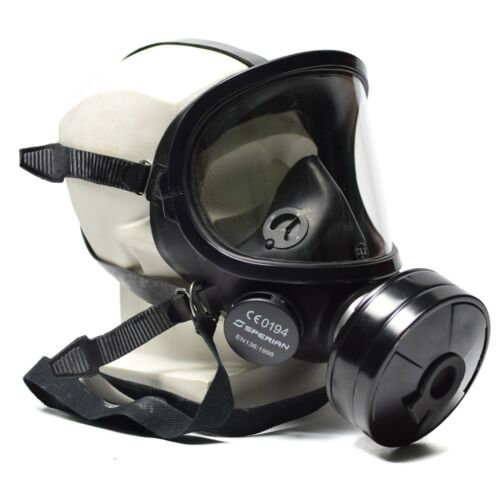 Modern gas mask Fernez Willson Sperian full face protection respirator black NEWGas Masks - 158440