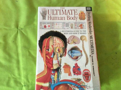 CD-ROM FOR WINDOWS.THE ULTIMATE HUMAN BODY.EDUCATIONAL.HOME SCHOOLING