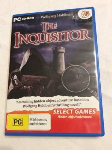 The Inquisitor - PC CD-ROM - Hidden Object Adventure