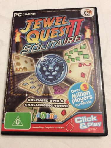 Jewel Quest II - Solitaire - PC CD-ROM